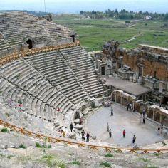 pamukkale hierapolis wisata tour ke pamukkale turki