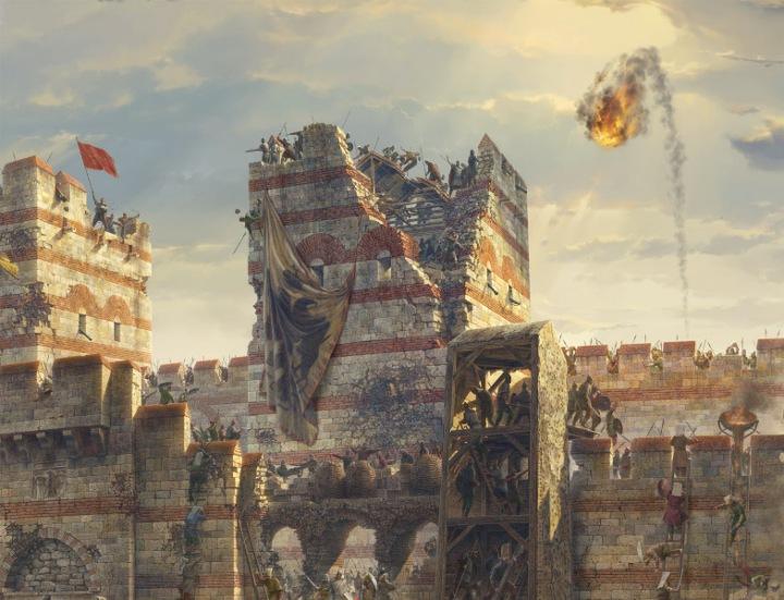 Panorama 1453 penaklukan konstantinopel wisata ke istanbul turki