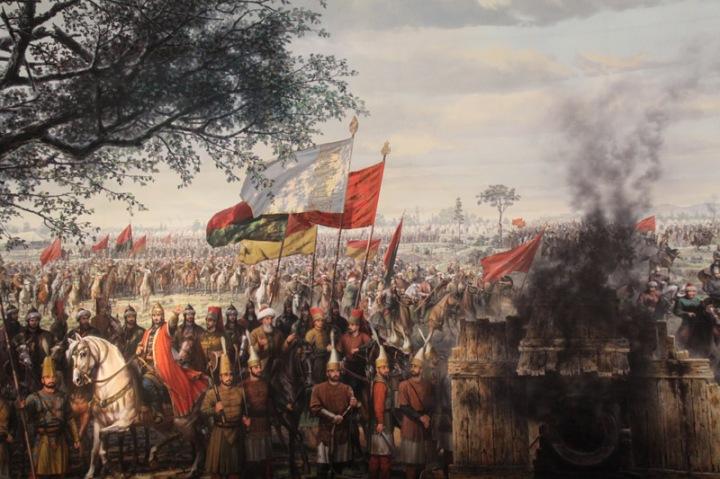 Panorama 1453 penaklukan konstantinopel wisata tour ke istanbul turki eropa