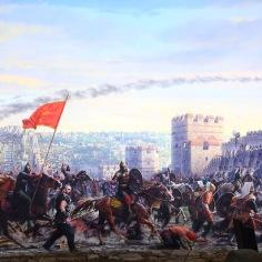 Panorama 1453 penaklukan konstantinopel wisata tour ke istanbul turki