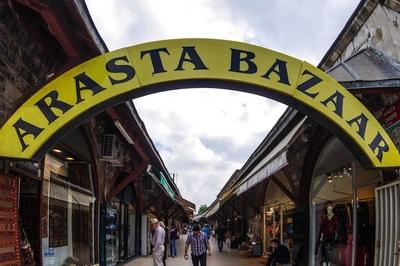 arasta bazaar wisata tour ke arasta bazaar istanbul turki