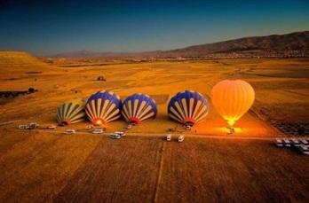 balon udara wisata tour ke cappadocia balon udara turki