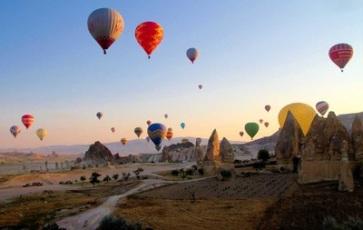 balon udara wisata tour ke cappadocia turki