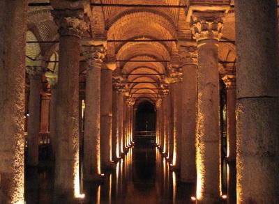 basilica cistren tour ke istanbul turki