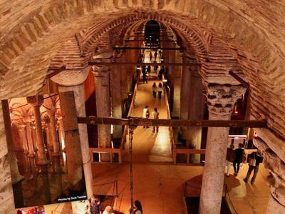 basilica cistren wisata ke istanbul turki