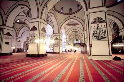 grand mosque tour ke grand mosque bursa turki