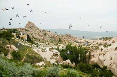 Lembah Merpati wisata ke Lembah Merpati cappadocia turki