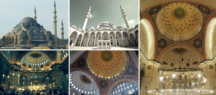 Suleymaniye Mosque tour ke masjid Suleymaniye turki