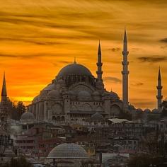 Suleymaniye Mosque wisata tour ke masjid Suleymaniye turki