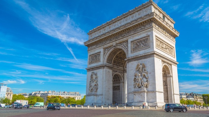 Paket Tour ke Eropa Wisata ke Eropa Arc de Triomphe