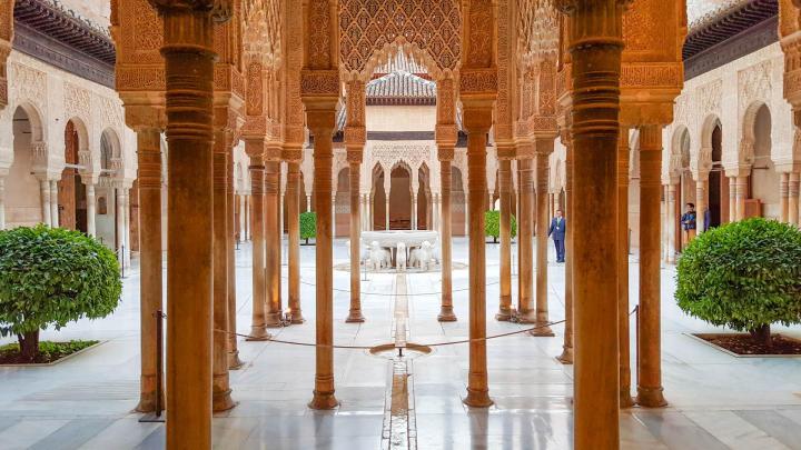 paket tour ke eropa wisata ke eropa mengunjungi istana alhambra granada andalusia spanyol