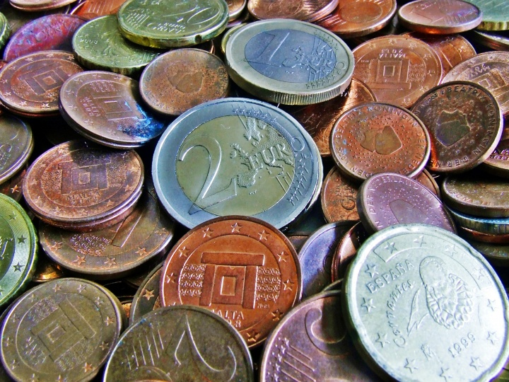 koin uang euro